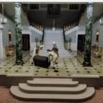 A scene from inside Hever's Model House museum