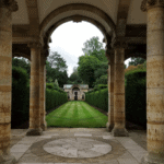 The Italian garden at Hever Castle