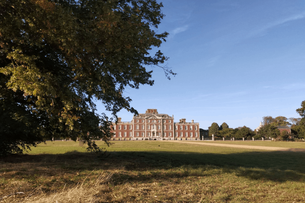 View from my picnic on the lawn at Wimpole
