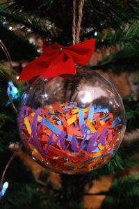 My finished Christmas bauble