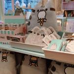 Merchandise at the Pusheen x ARTBOX store