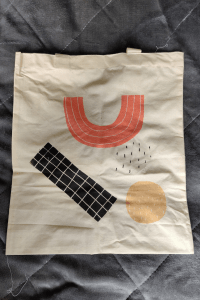 Tote bag from the March 2020 Papergang box
