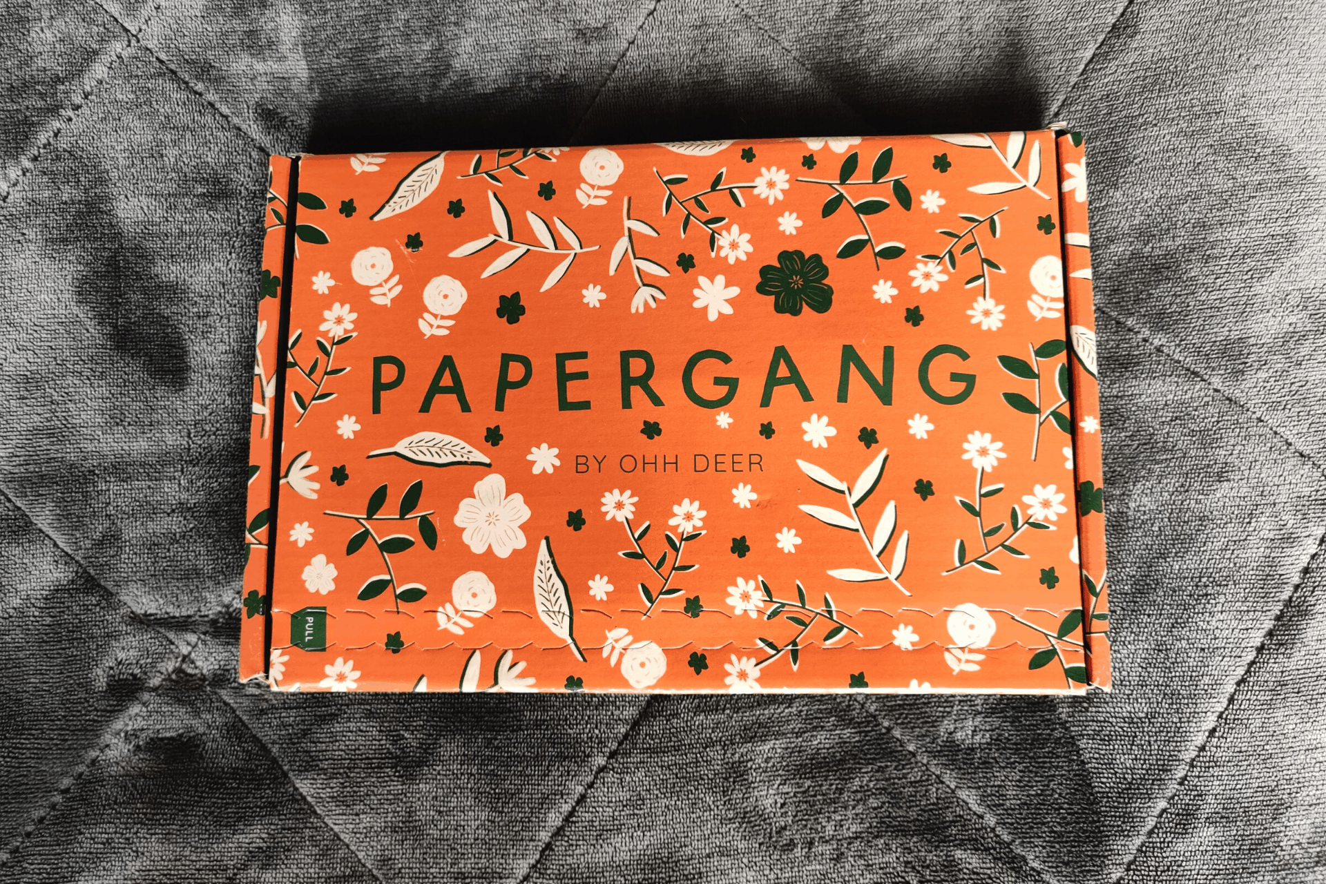 Papergang by Ohh Deer Stationery Box April 2020