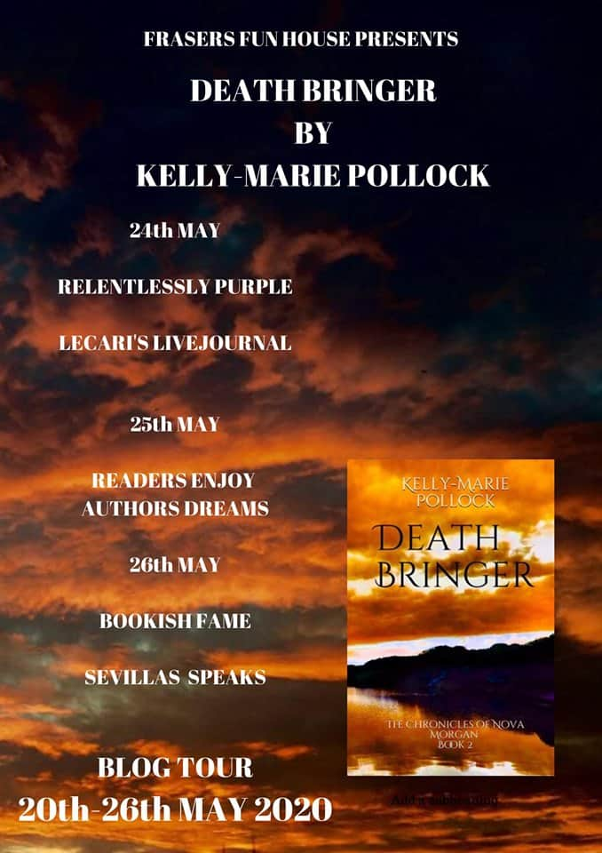 The other bloggers taking part in the Death Bringer blog tour