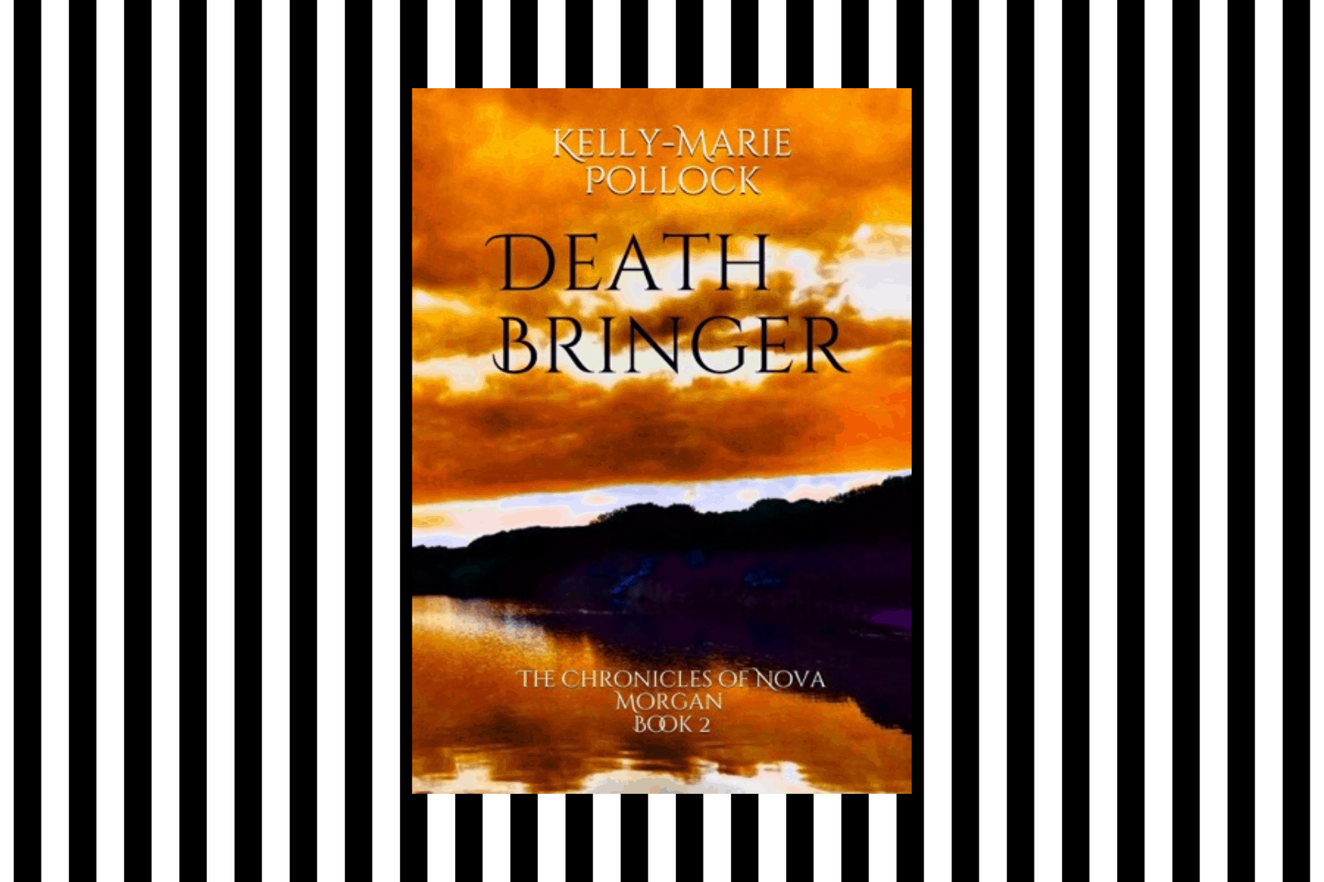The cover of Death Bringer, by Kelly-Marie Pollock