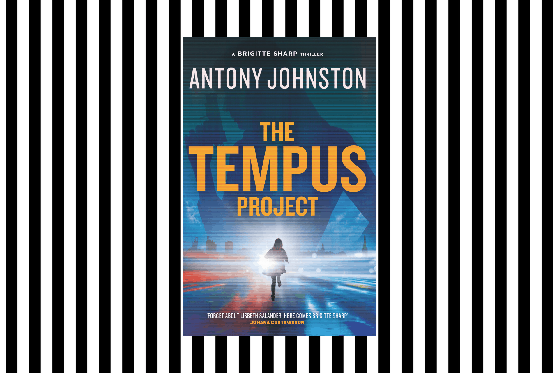 The cover for The Tempus Project by Antony Johnston