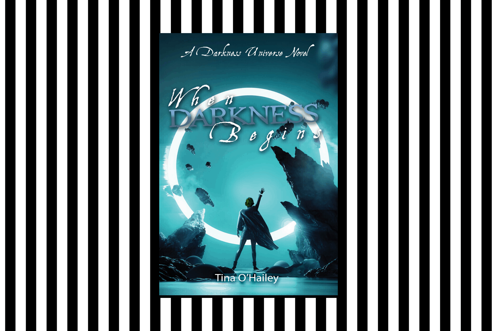 The cover of When Darkness Begins by Tina O'Hailey