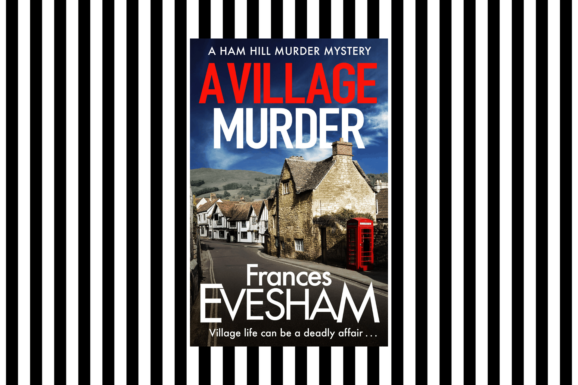 The cover of A Village Murder by Frances Evesham