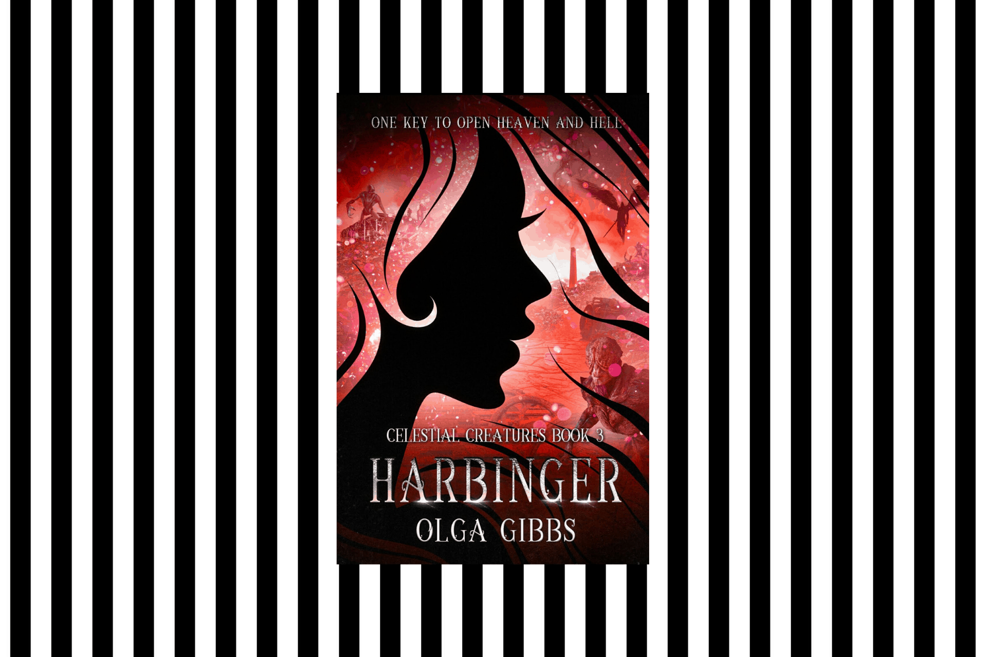 The cover of Harbinger by Olga Gibbs