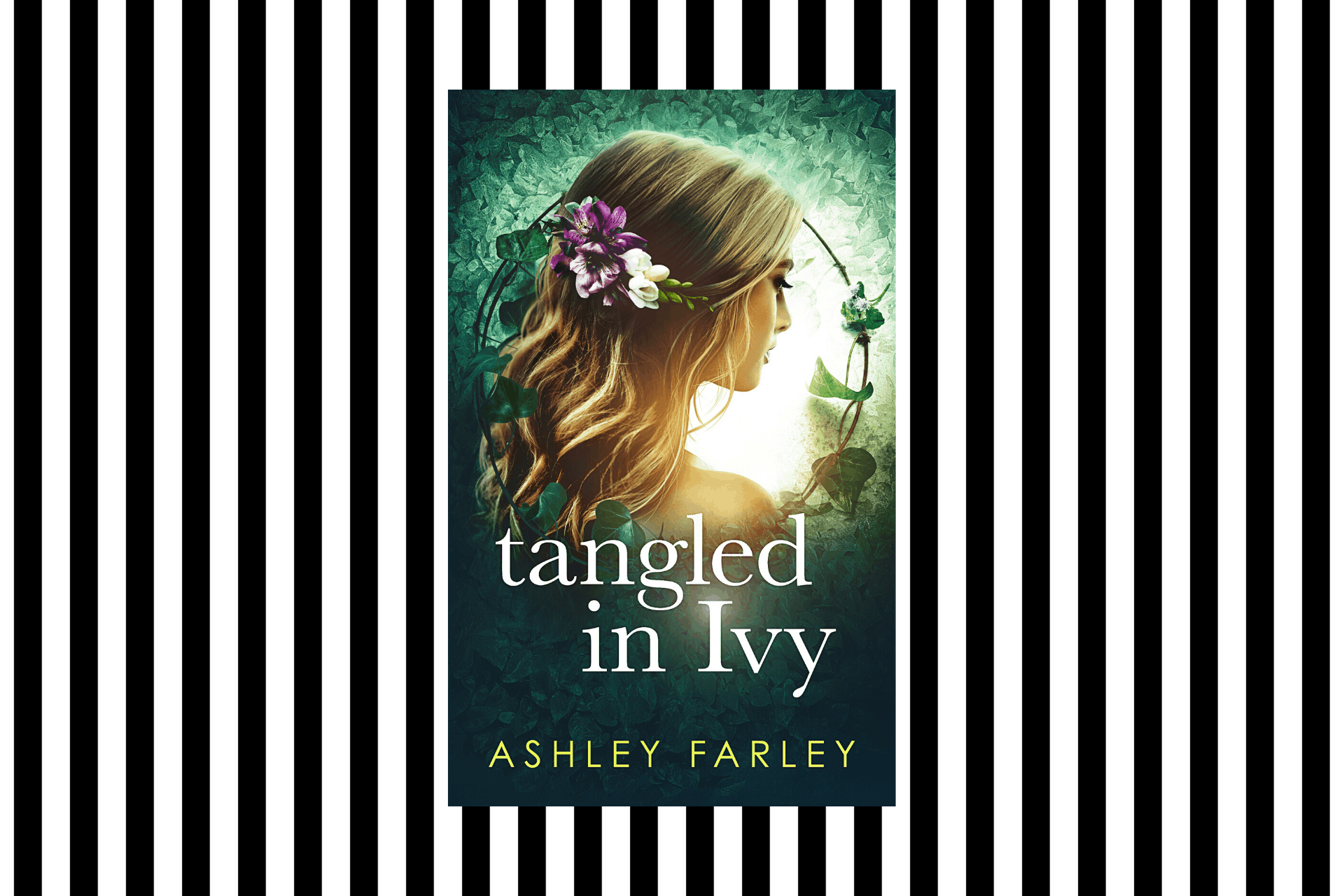 The cover of Tangled in Ivy by Ashley Farley