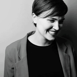The author of Chosen Ones, Veronica Roth