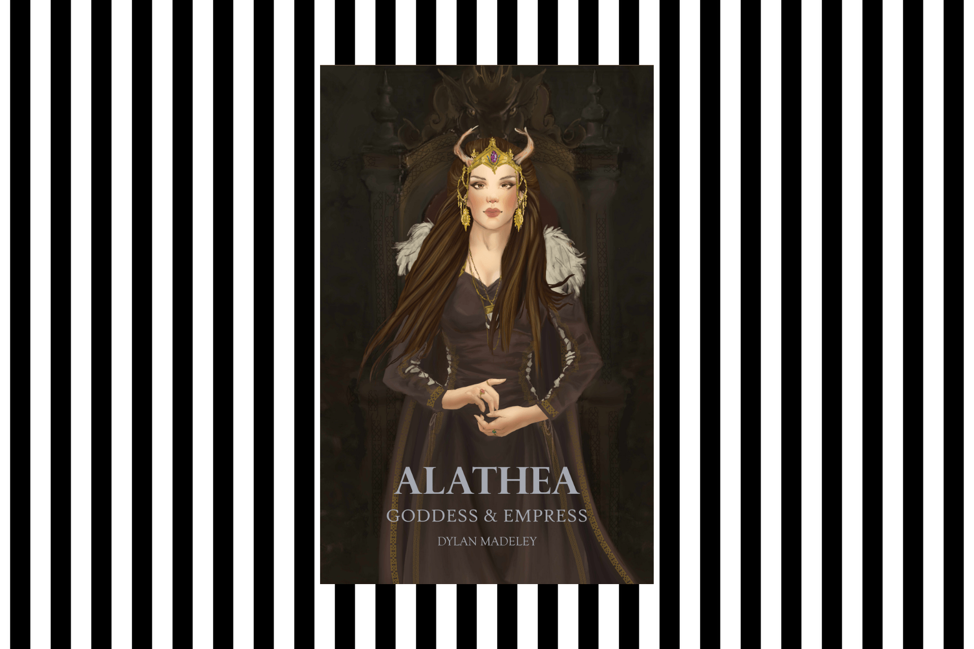 The cover of Alathea: Goddess & Empress, by Dylan Madeley