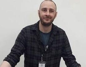The author, Duncan Thompson