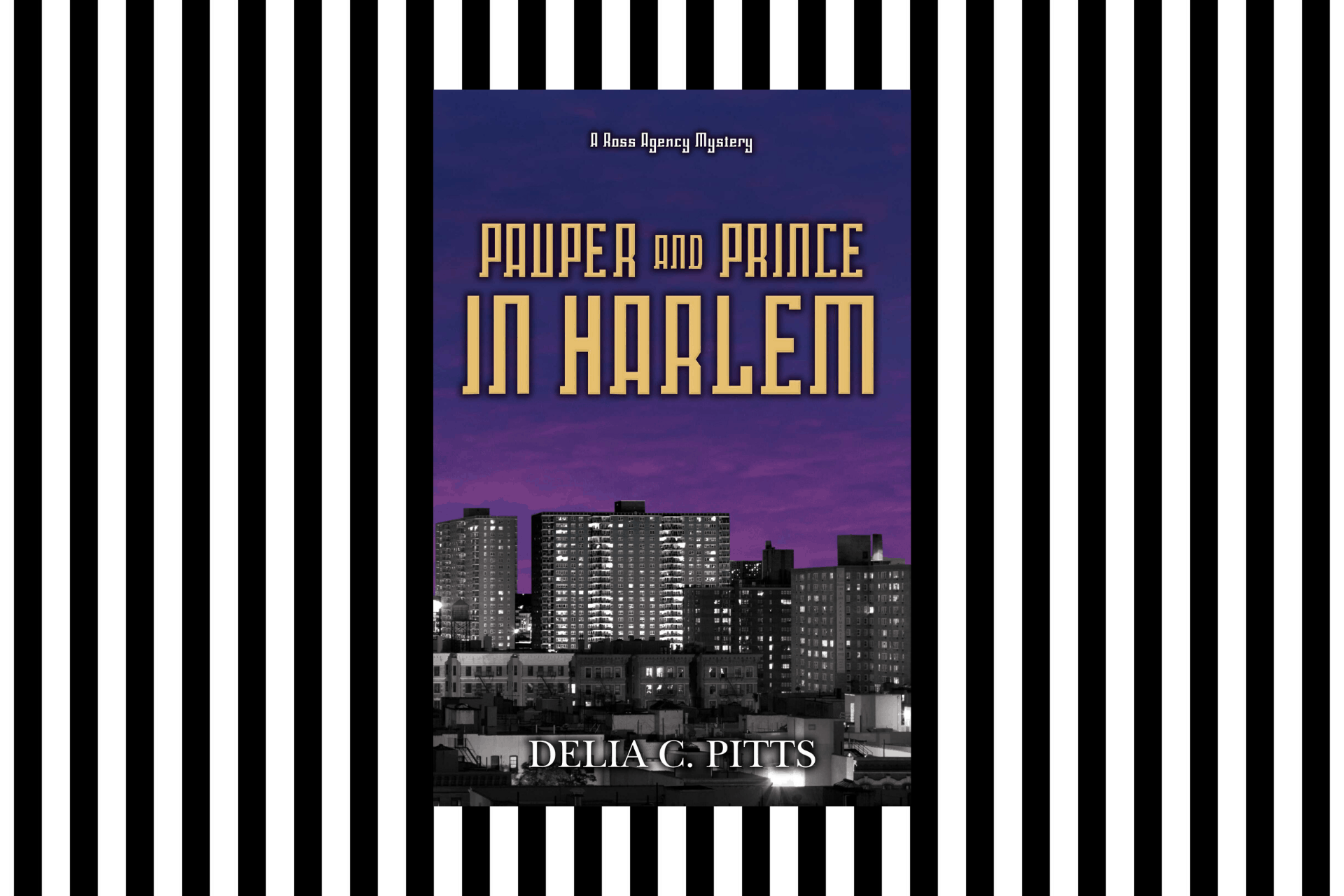 The cover of Pauper and Prince in Harlem by Delia C Pitts