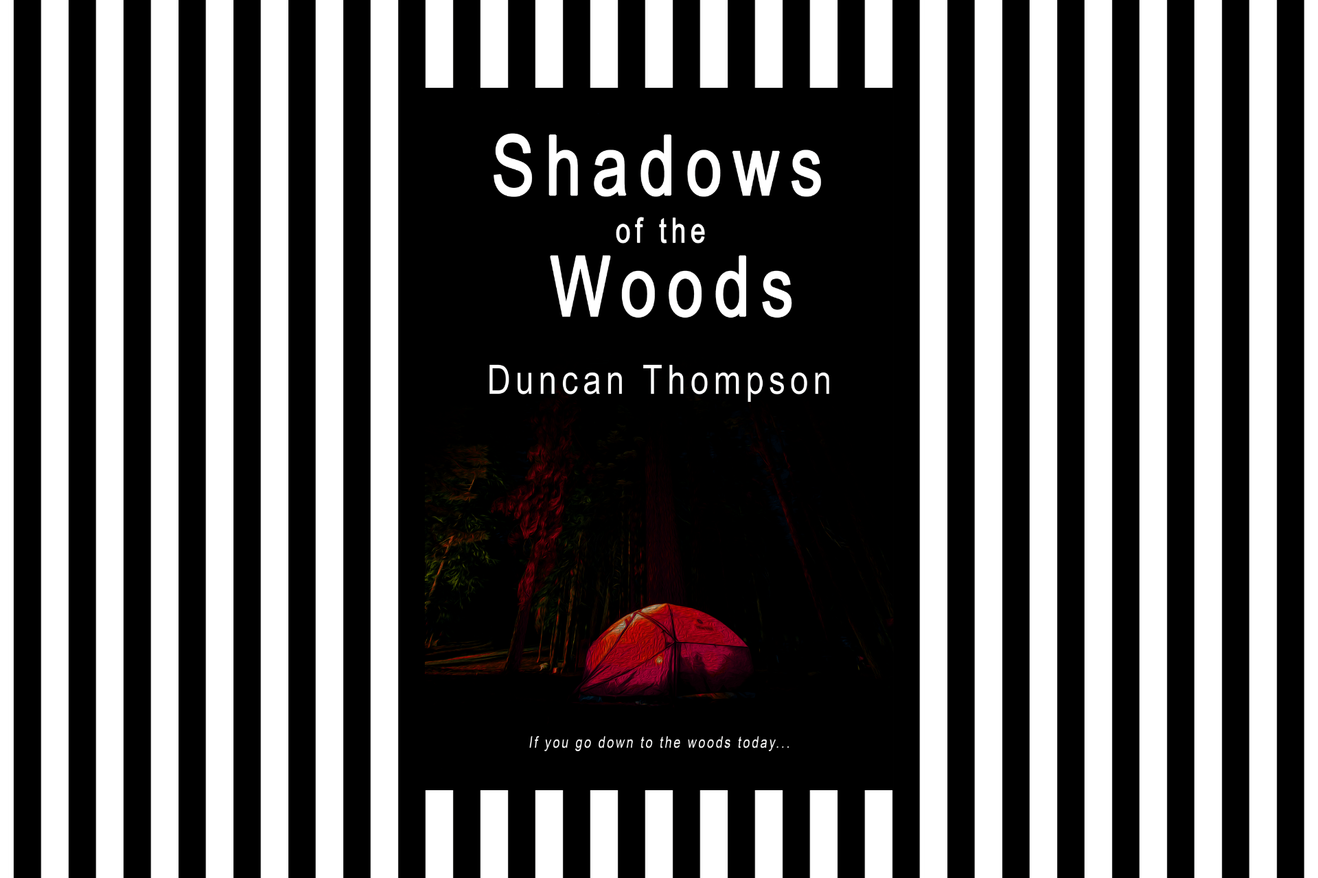 The cover of Shadows of the Woods by Duncan Thompson