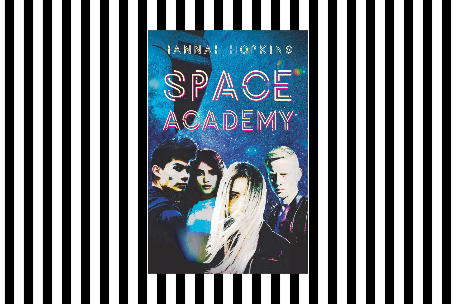 The cover of Space Academy by Hannah Hopkins