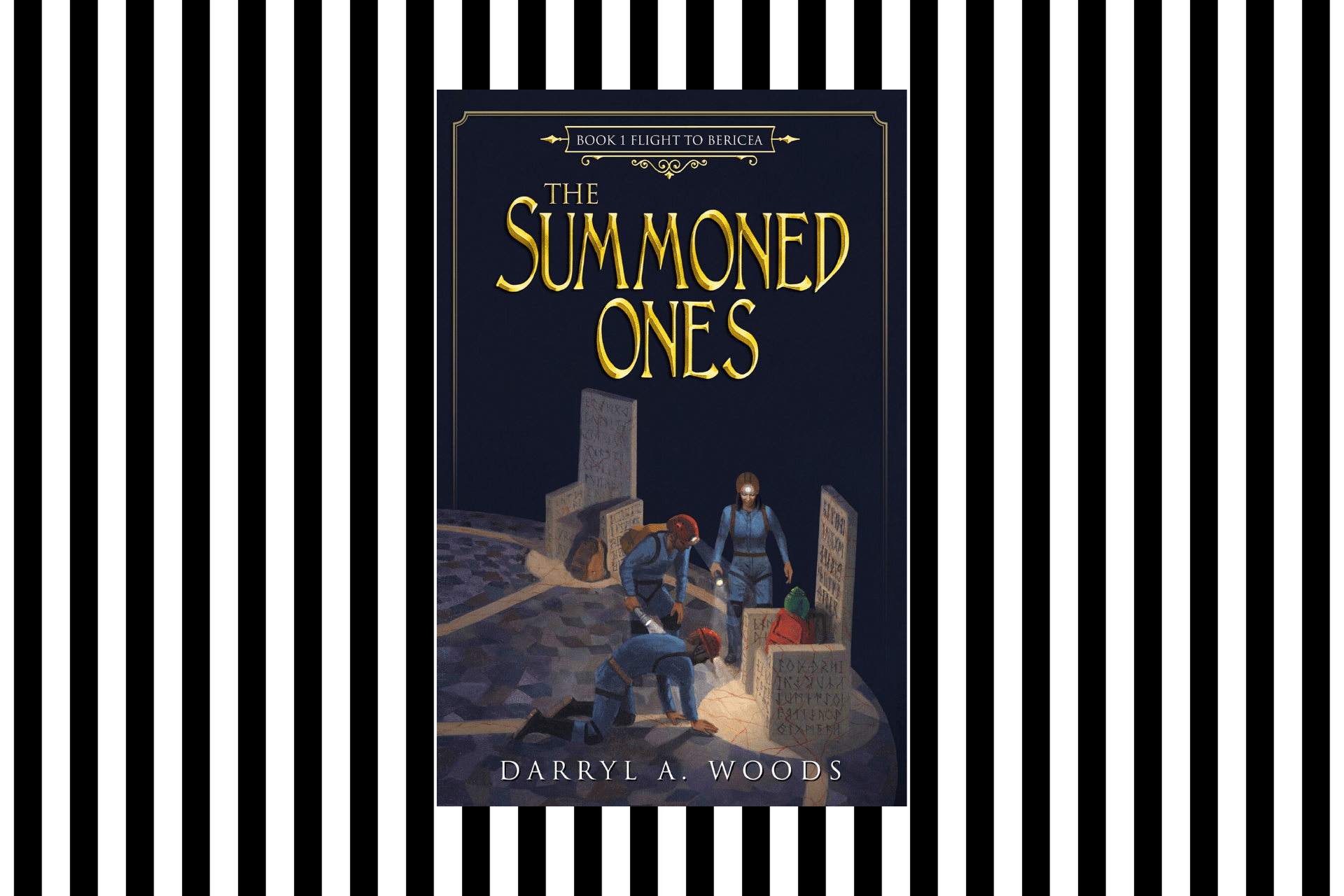 The cover of the Summoned Ones by Darryl A Woods