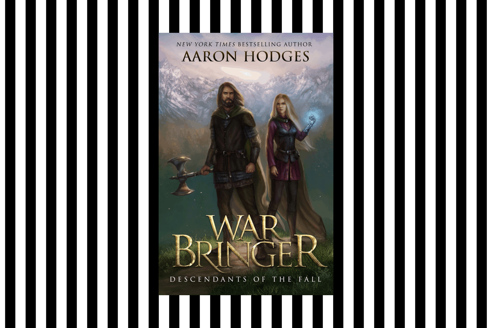 The cover of Warbringer by Aaron Hodges