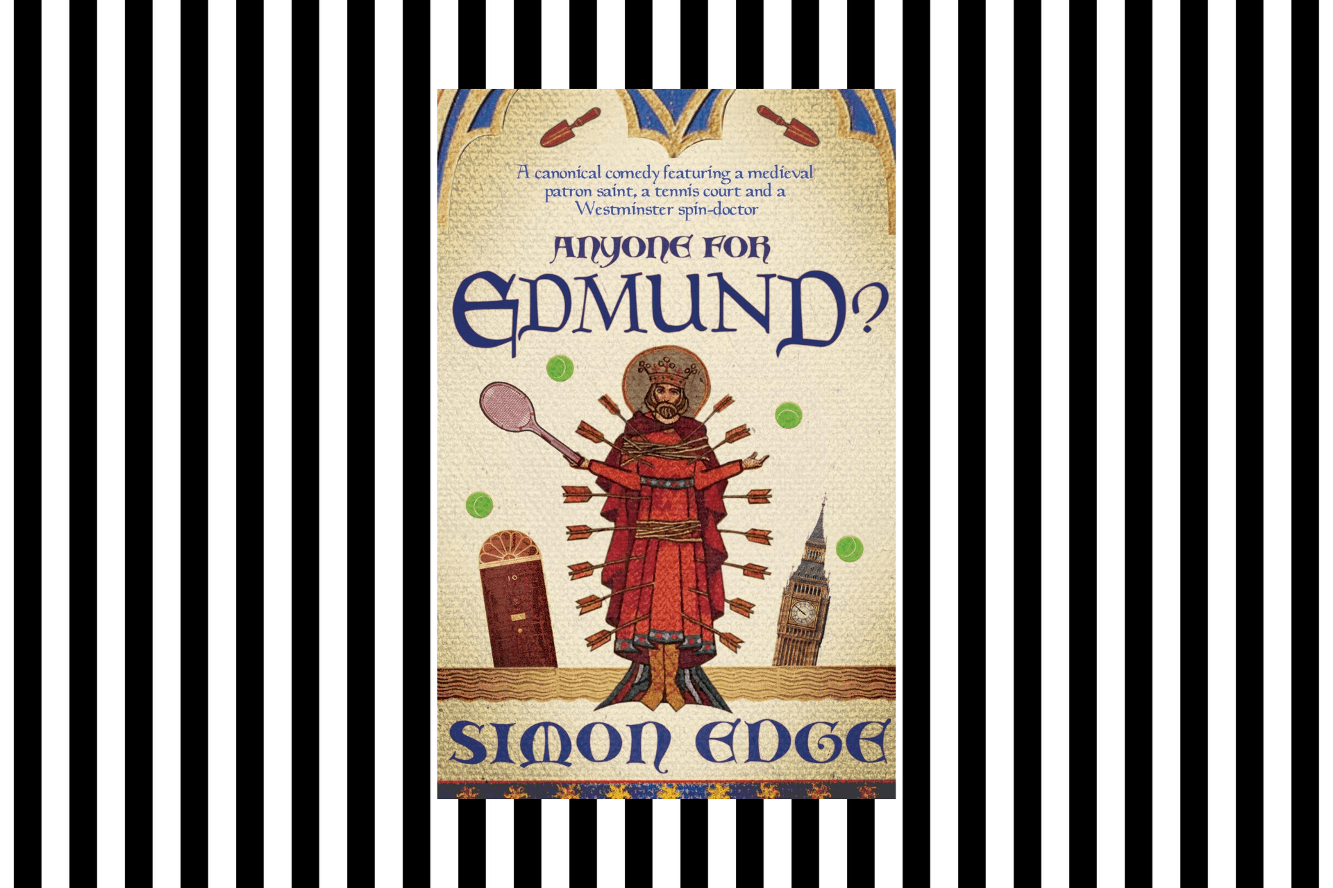 The cover of Anyone for Edmund? by Simon Edge
