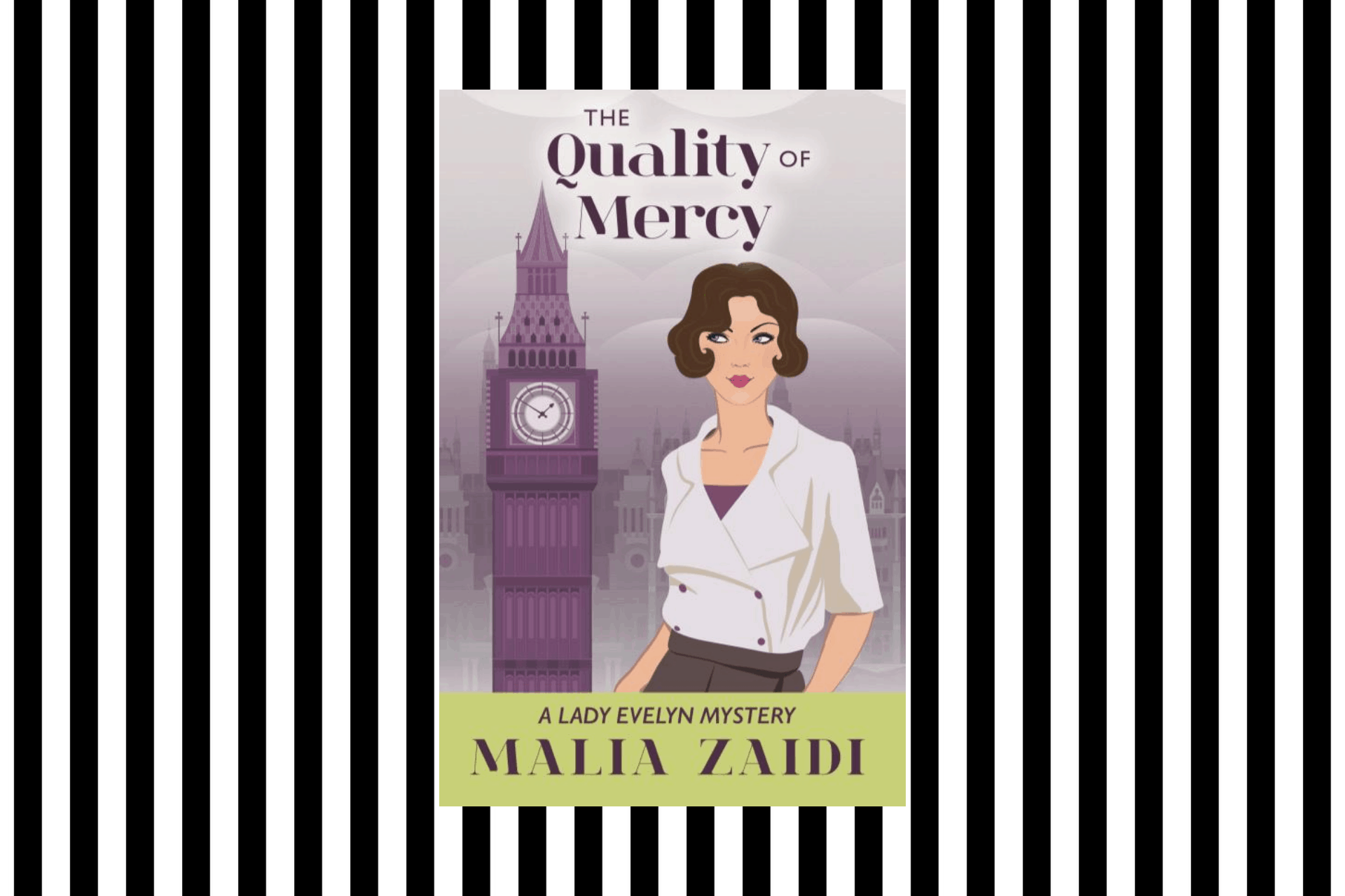 The cover of The Quality of Mercy by Malia Zaidi