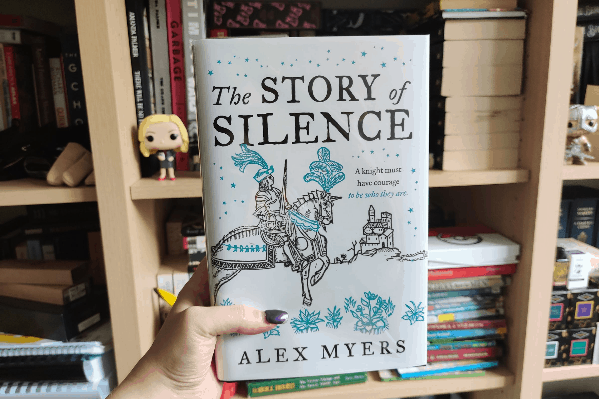 The cover of The Story of Silence by Alex Myers