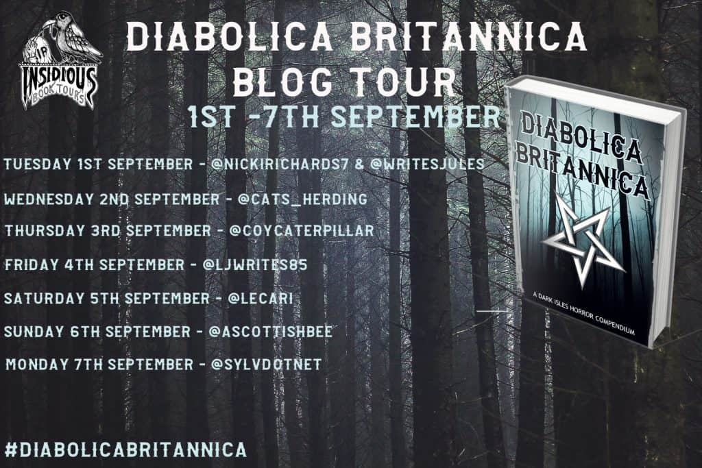 Diabolica Britannica blog tour banner - 1st - 7th September