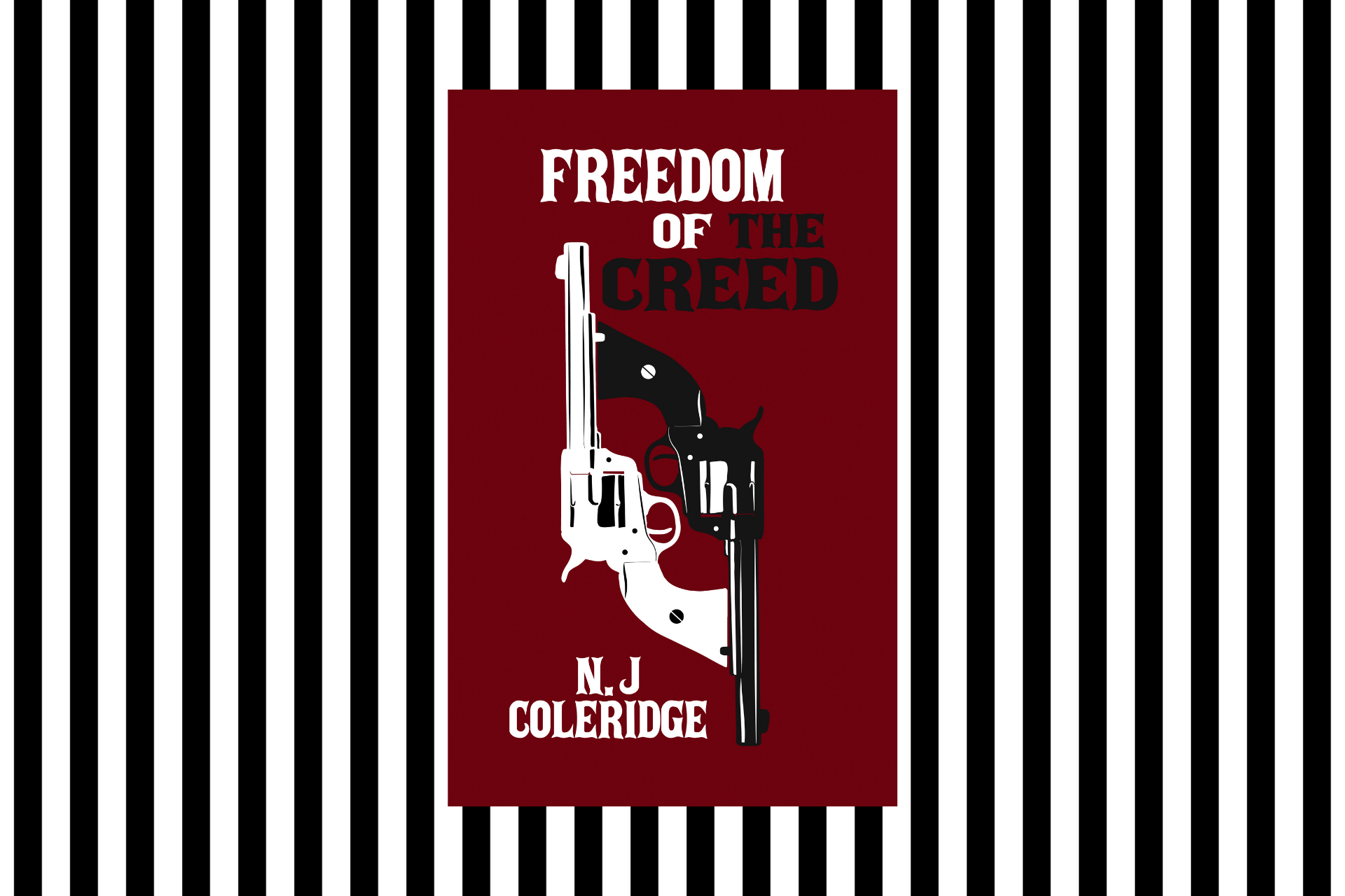 The cover of Freedom of the Creed by N J Coleridge