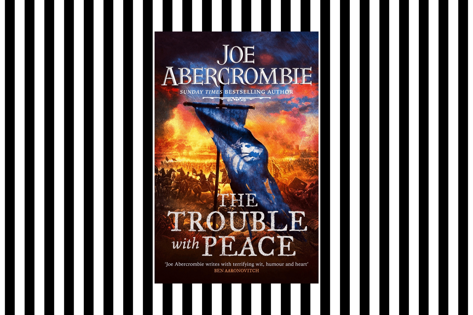 The cover of The Trouble with Peace by Joe Abercrombie
