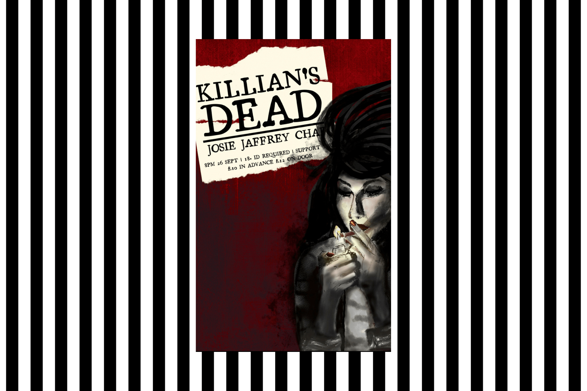 The cover of Killian's Dead, by Josie Jaffrey