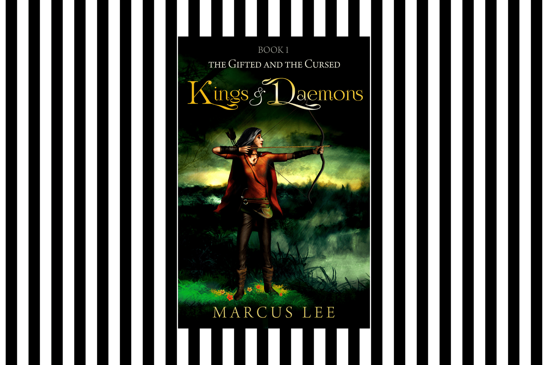 The cover of Kings and Daemons, by Marcus Lee