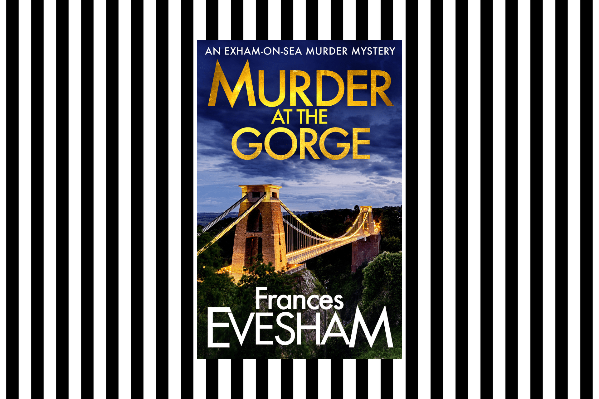 The cover of Murder at the Gorge by Frances Evesham