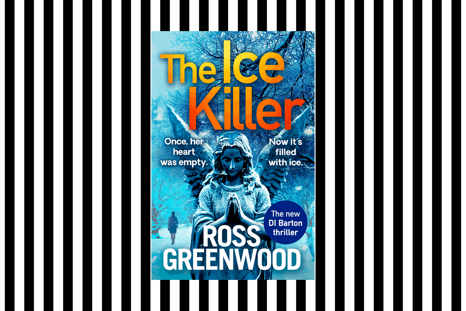 The cover of The Ice Killer by Ross Greenwood