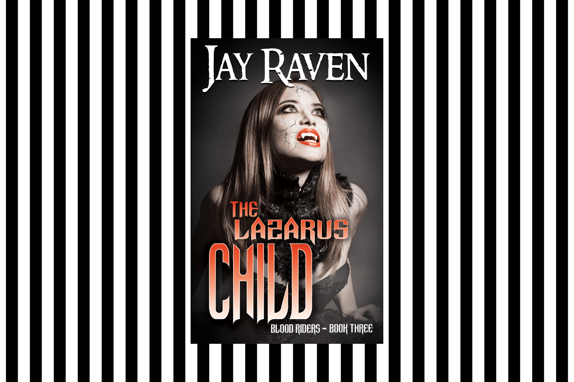 The cover of The Lazarus Child by Jay Raven