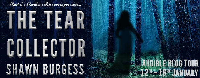 The blog tour banner for The Tear Collector