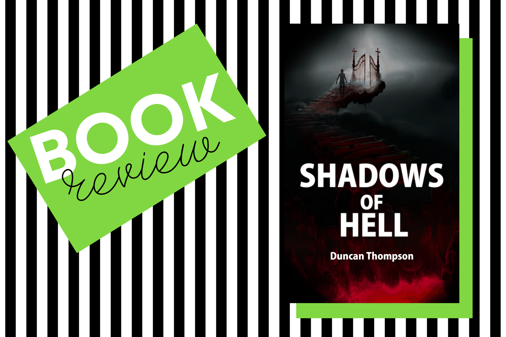 The cover of Shadows of Hell by Duncan Thompson
