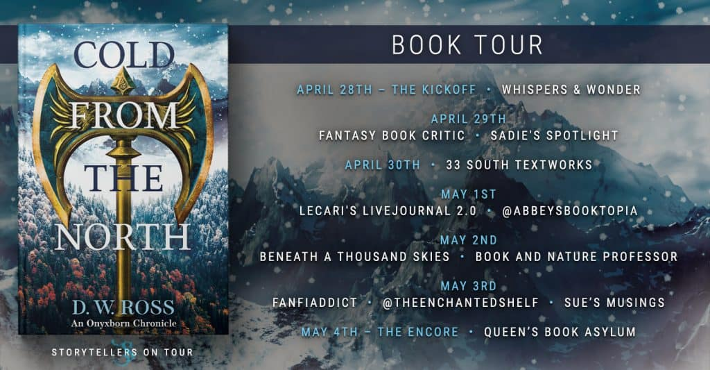The tour banner for The Cold From the North