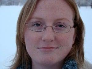 The author, Sarah Chorn