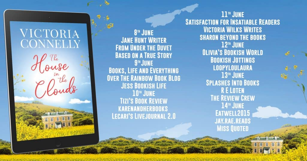 The House in the Clouds blog tour banner