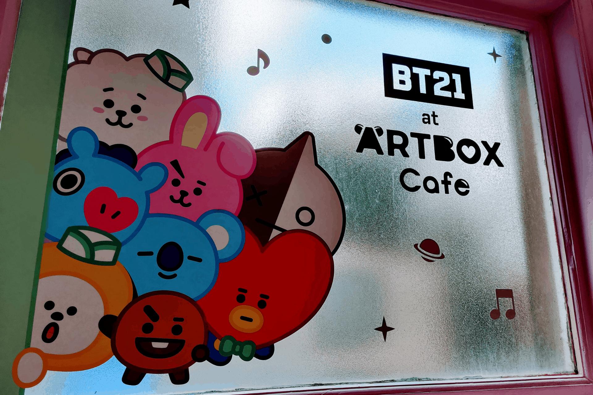 B21 at Artbox Cafe in Brighton