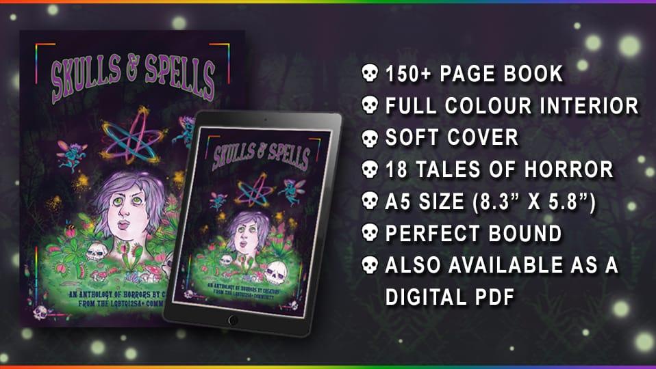 Skulls and Spells book description