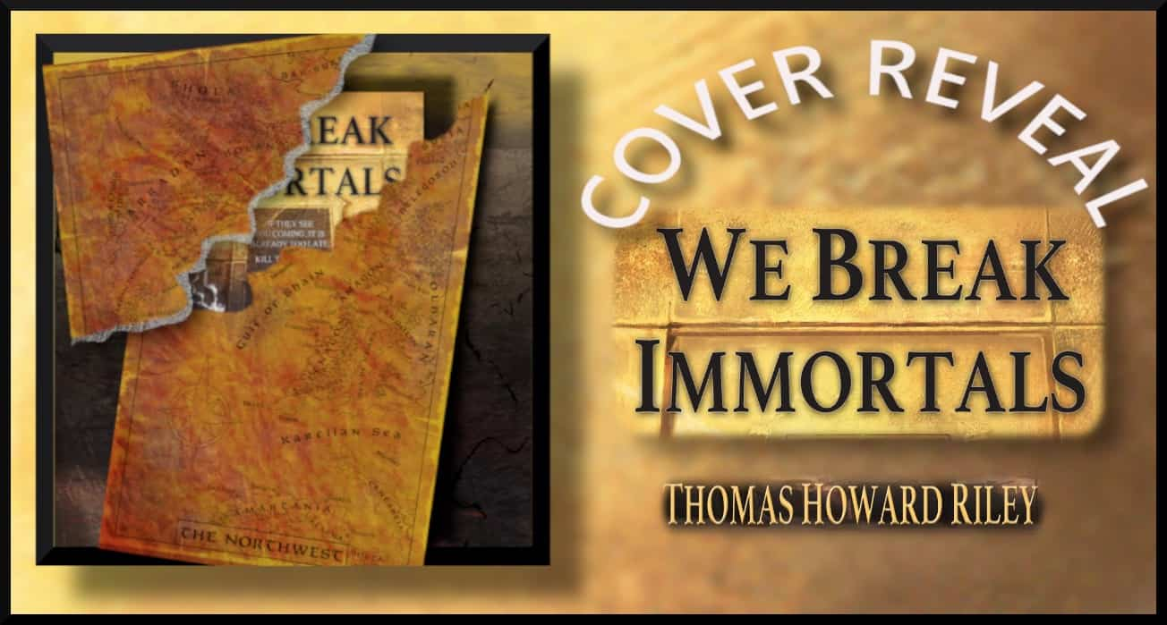 Cover Reveal banner for We Break Immortals