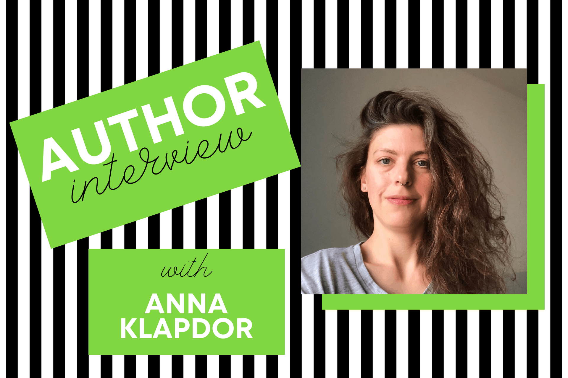 Author interview with Anna Klapdor