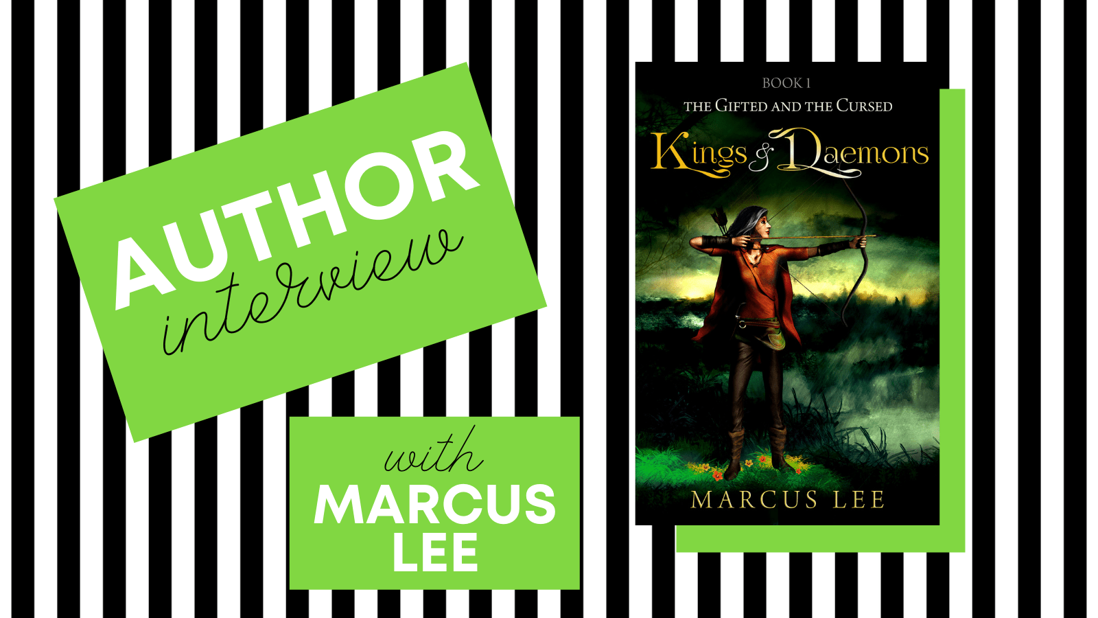 Author interview with Marcus Lee