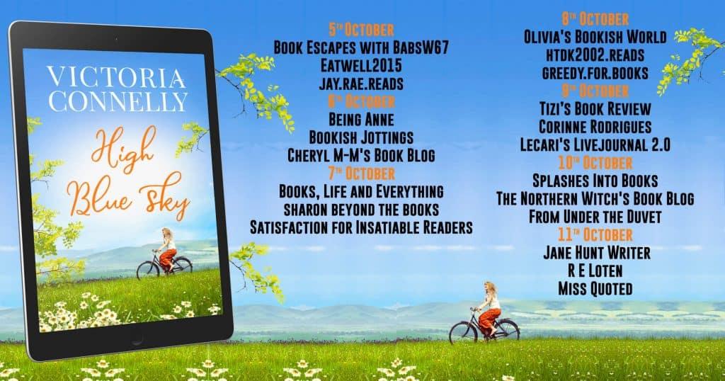 Blog tour for High Blue Sky organised by Rachel's Random Resources