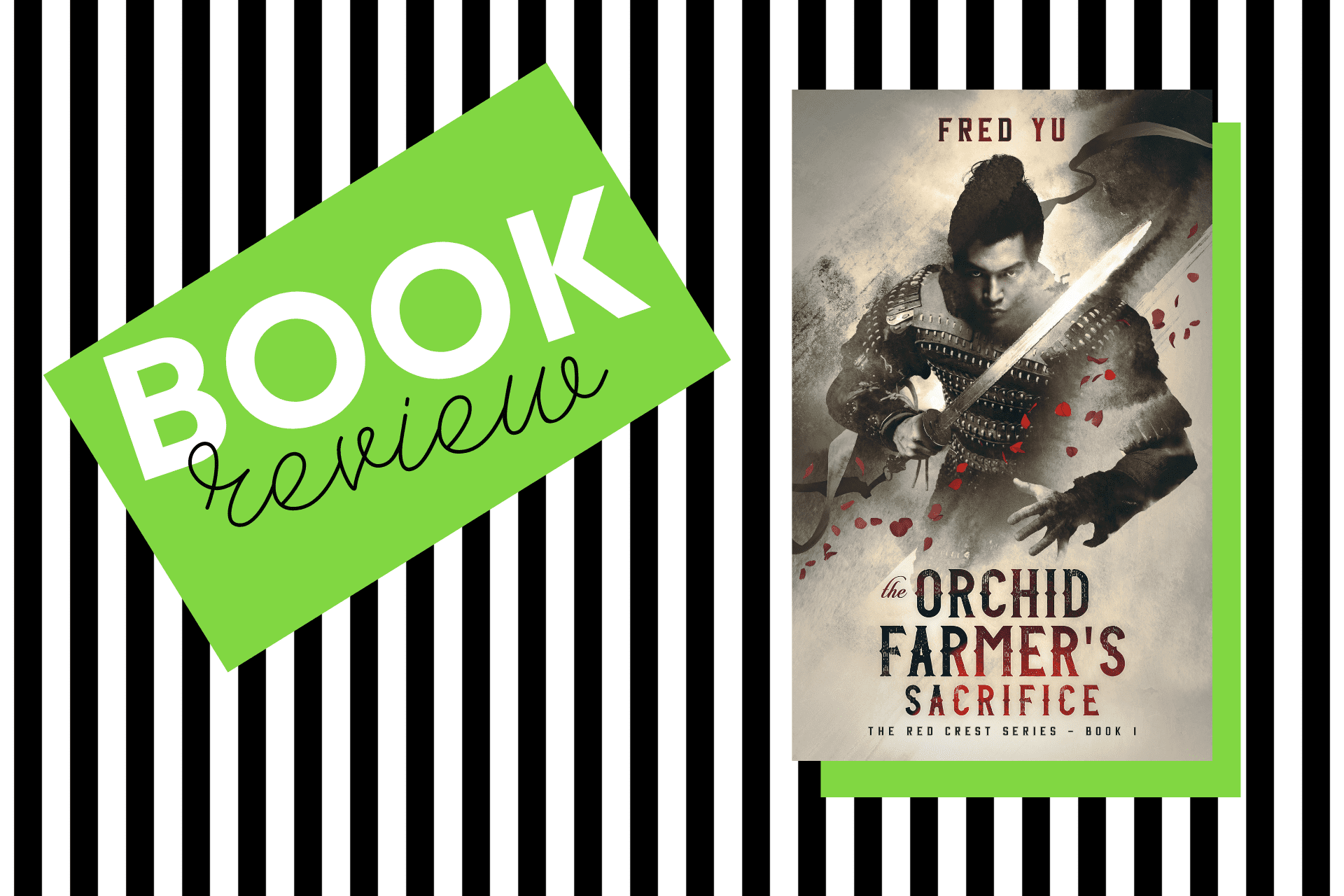 The cover of The Orchid Farmer's Sacrifice by Fred Yu